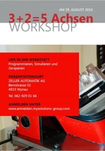 Workshop Zeller Automatik AG